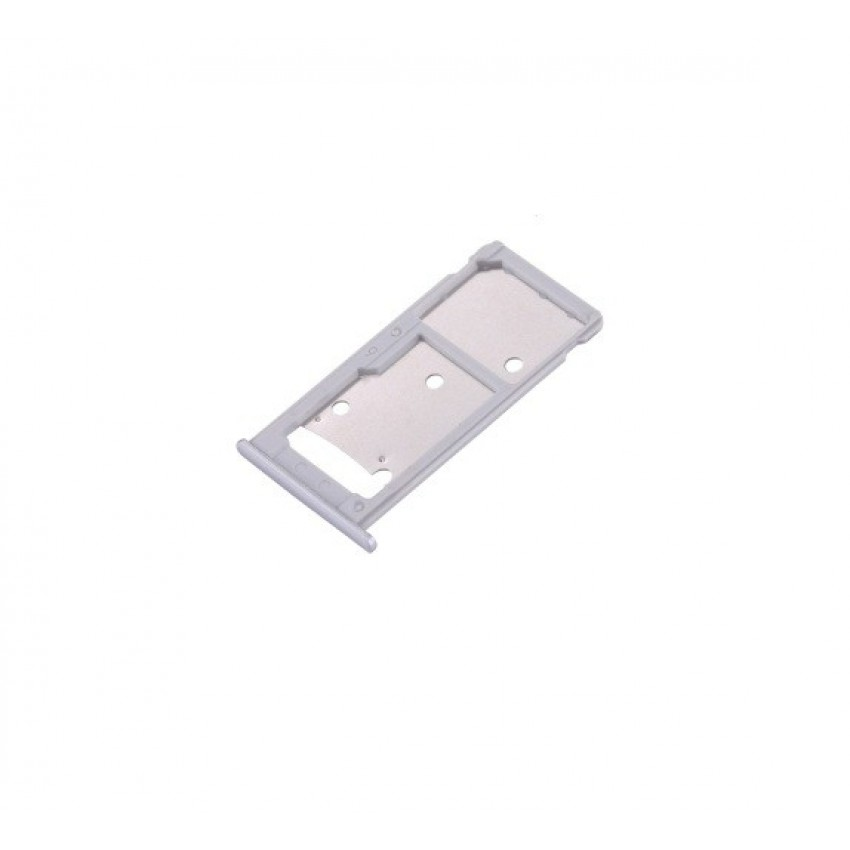 SIM card holder Huawei Y7/Nova Lite+ silver original (service pack)