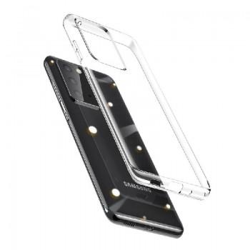 Case BASEUS Simple Series TPU Samsung G988 S20 Ultra transparent