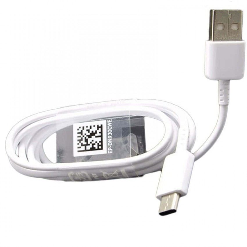 USB cable original Samsung G950 S8/G960 S9 type-C (EP-DN930CWE) white (1,2M)