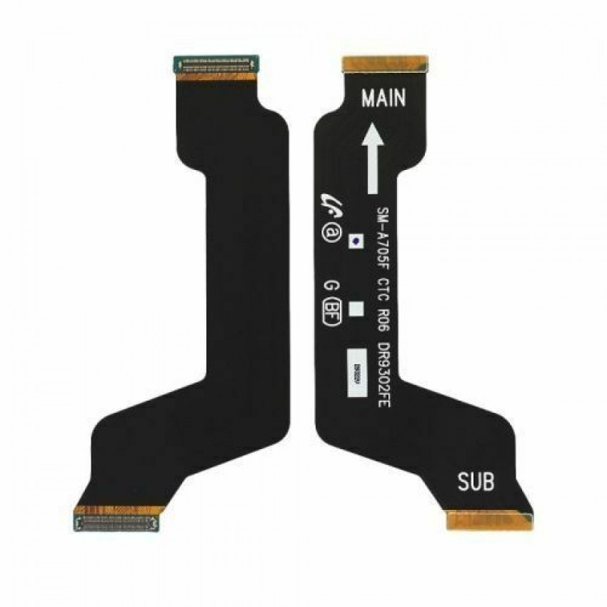 Lanksčioji jungtis Samsung A705 A70 2019 pagrindinė (SUB) originali (service pack)