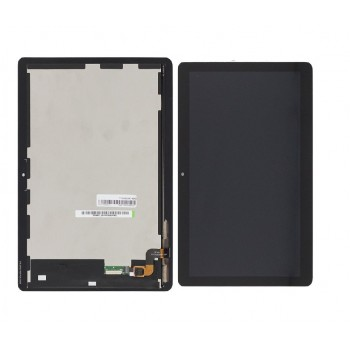 LCD screen Huawei MediaPad T3 10 (AGS-W09/AGS-L09) with touch screen and frame black original (service pack)
