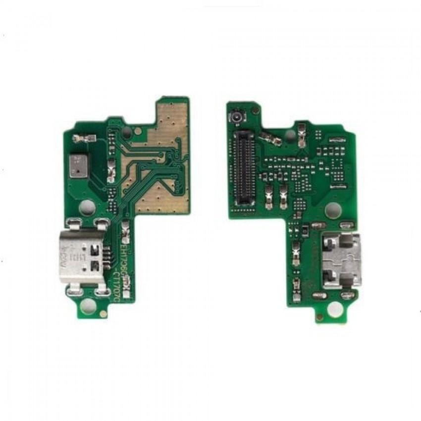 Lanksčioji jungtis Huawei P10 Lite įkrovimo kontakto su mikrofonu originali (service pack)