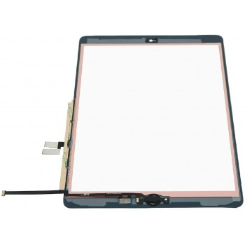 Touch screen iPad 10.2 2019 (7th generation)/10.2 2020 (8th Generation) black with Home button and holders HQ