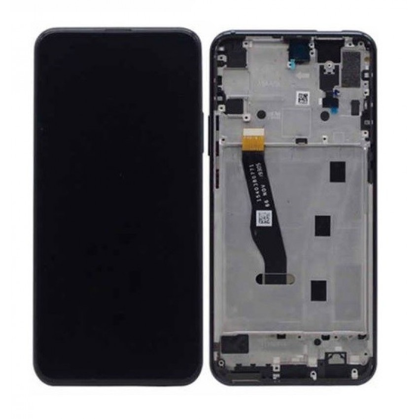 LCD screen Huawei P Smart Z with touch screen and frame black HQ