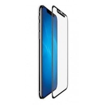 "LCD apsauginis stikliukas ""3D Antishock Full Glue"" Apple iPhone XR/11 be įpakavimo"