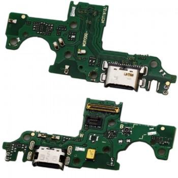 Lanksčioji jungtis Huawei Honor 20 Lite įkrovimo kontakto su mikrofonu originali (service pack)