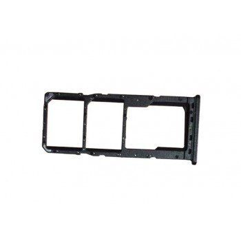 SIM card holder Samsung A217 A21s 2020 black ORG