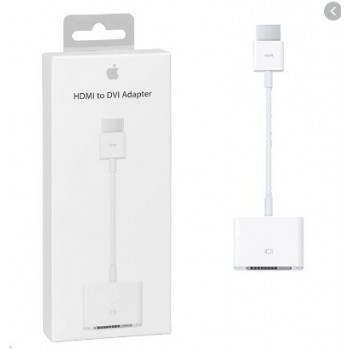 Adapter Apple from DVI to HDMI (MJVU2ZM/A) original (used Grade A) with box