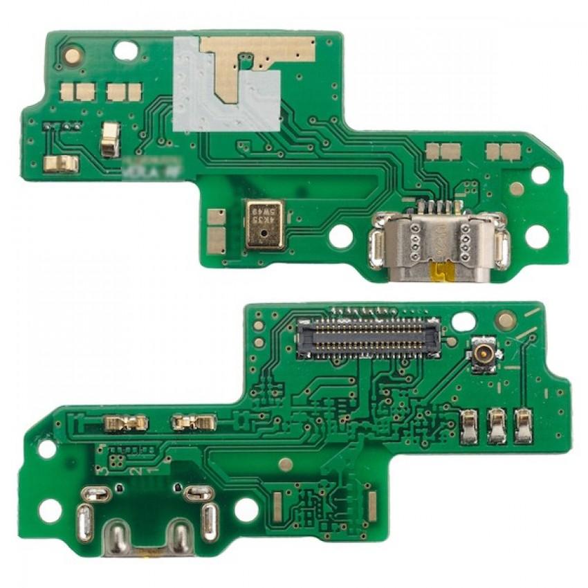 Lanksčioji jungtis Huawei P9 Lite įkrovimo kontakto su mikrofonu originali (service pack)