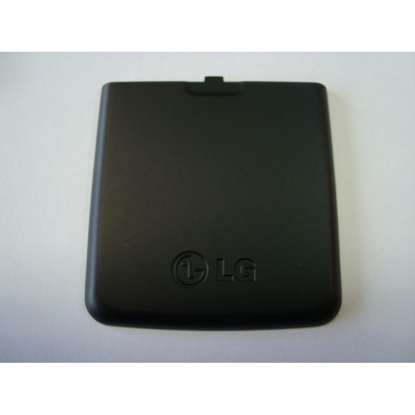LG KP500 baterijos dangtelis juodas ORG