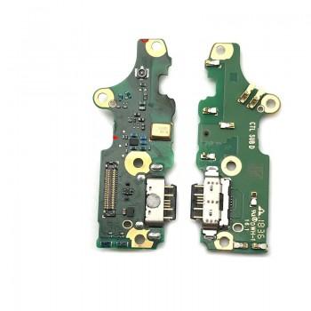 Lanksčioji jungtis Nokia 7.1 įkrovimo kontakto su mikrofonu ORG