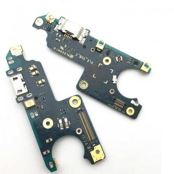 Lanksčioji jungtis Nokia 6 įkrovimo kontakto su mikrofonu naudota ORG