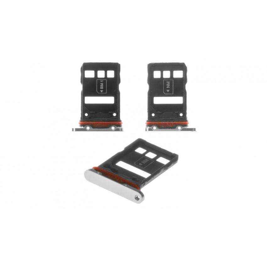 SIM card holder Huawei P30 Pro white ORG