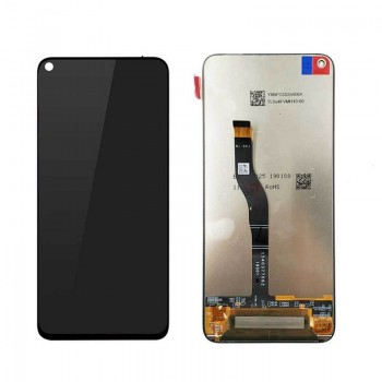 Ekranas Huawei Honor View 20 (Honor V20) su lietimui jautriu stikliuku juodas HQ