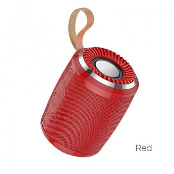 Bluetooth portable speaker HOCO BS39 (MicroSD,AUX,FM) red