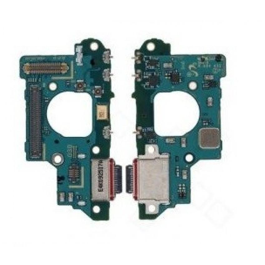 Lanksčioji jungtis Samsung G781/G780 S20 FE su įkrovimo kontaktu, mikrofonu, ausinių lizdu originali (service pack)