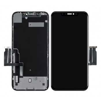 Ekranas iPhone XR su lietimui jautriu stikliuku (Toshiba version) originalus (used Grade C)