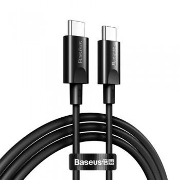 "USB cable Baseus Xiaobai ""USB-C (Type-C) to USB-C (Type-C)"" (100W 5A) black 1.5M"