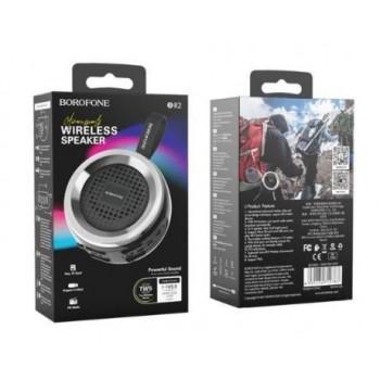 Bluetooth portable speaker BOROFONE Aurora BR2 black