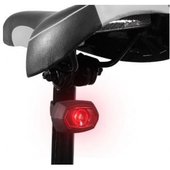 Wozinsky Rear Bicycle Light WRBLB1 (USB) black