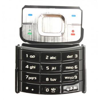 Nokia 6500C klaviatūra juoda ORG