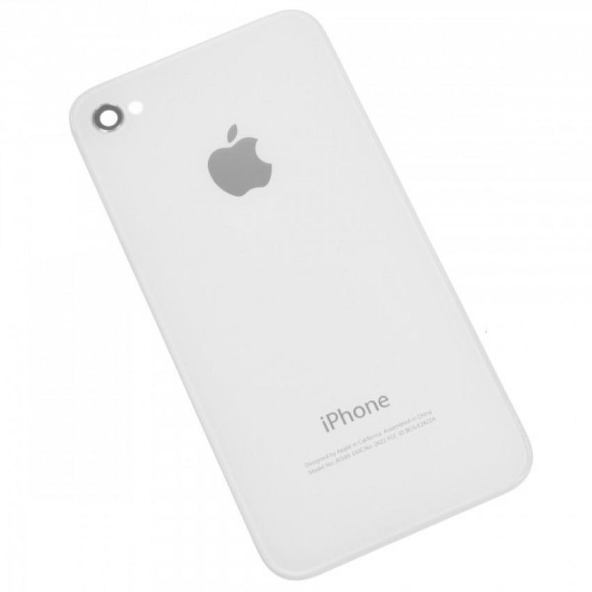 Galinis dangtelis iPhone 4S baltas