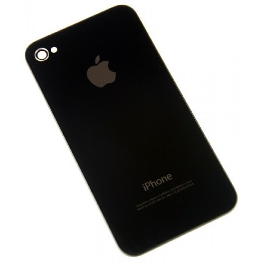 Galinis dangtelis iPhone 4G juodas