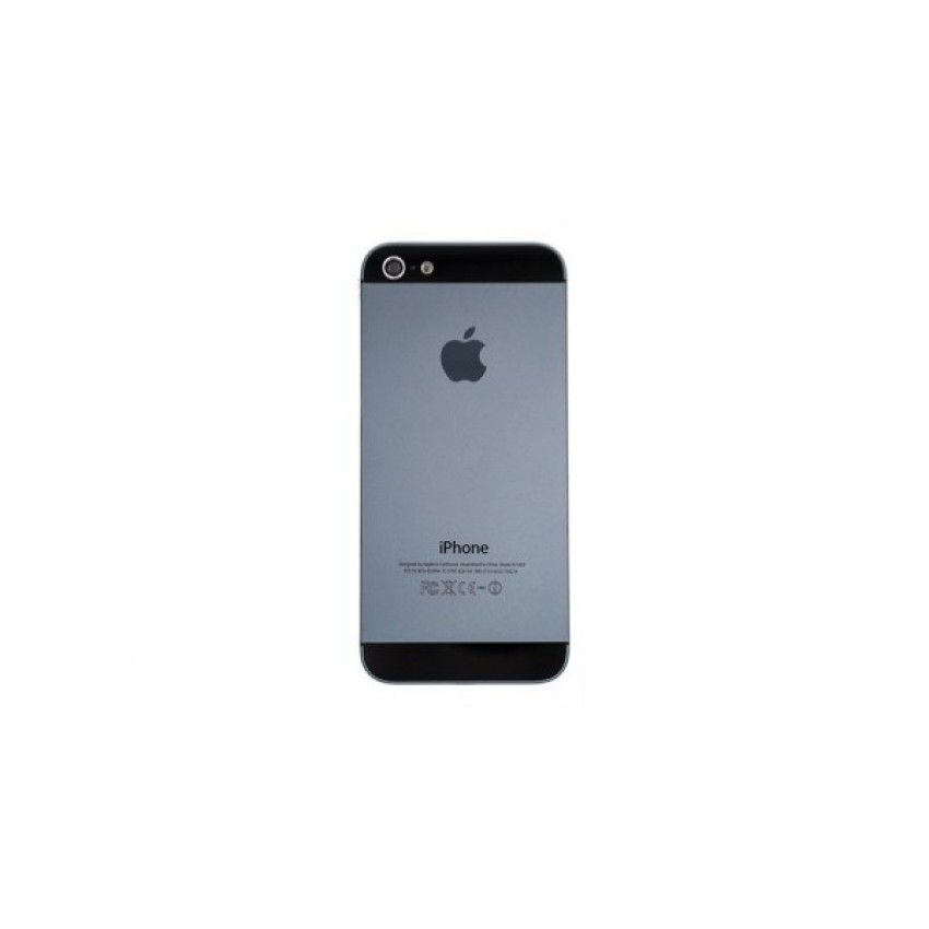 Galinis dangtelis iPhone 5G juodas